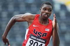 US sprinter Noah Lyles (Getty Images)