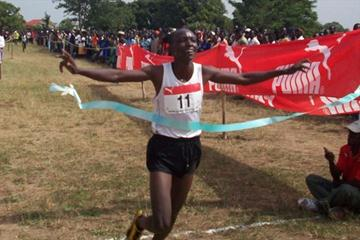 2010 Ugandan junior champion Moses Kibet (Daniel Senfuma)