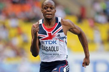 British sprinter James Dasaolu (Getty Images)