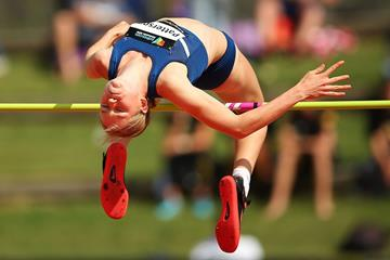Eleanor Patterson at the 2015 Australian Junior Championships (Getty Images)