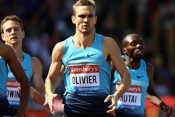 South African 800m runner Andre Olivier (Getty Images)