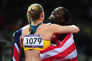 Dawn Harper and Sally Pearson (Getty Images)