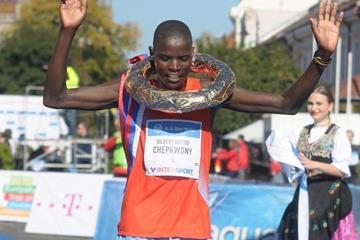 Gilbert Chepkwony, winner of the men's race (Organisers)