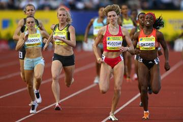 Lucia Klocova winning in London (Getty Images)