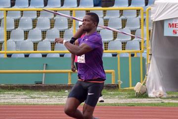 Keshorn Walcott at the 2015 Trinidad and Tobago Championships (Curtis Chase/Trinidad Express)