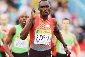 David Rudisha on his way to 800m victory at the IAAF Diamond League meeting in London (Getty Images)