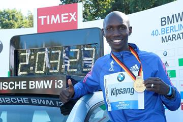 Wilson Kipsang World Record Marathon
