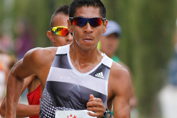Eider Arevalo, winner of the Rio Maior International Race Walking Grand Prix (Marcelino Almeida)