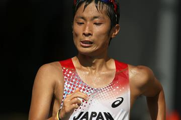 Japan's Takayuki Tanii in action in the 50km race walk (Getty Images)