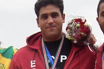 African Hammer Throw champion Mohsen Anani of Egypt (Ghada Abd Elkader)