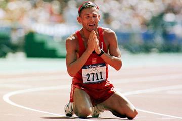 Polish race walker Robert Korzeniowski (Getty Images)