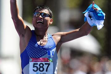Guatemalan Erick Barrondo strikes Pan American Games gold in the 20Km Race Walk in Guadalajara (Getty Images)