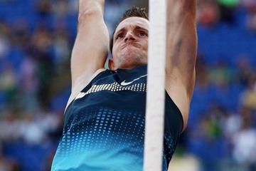 Renaud Lavillenie in action at the IAAF Diamond League meeting in Rome (Getty Images)