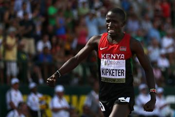 Alfred Kipketer, winner of the 800m at the IAAF World Junior Championships, Oregon 2014 (Getty Images)