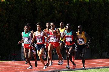 Boy's 3000m qualification race - Tue 17 Aug, Singapore Youth Olympic Games (Getty Images)