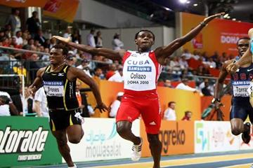 Cuban 400m sprinter William Collazo  - image used in Athletes section (Getty images)