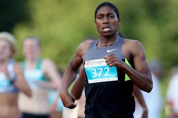 South African 800m runner Caster Semenya (Getty Images)