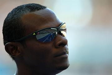Yeimer López of Cuba looks on during the men's 800m heats at the 12th IAAF World Championships in Athletics (Getty Images)