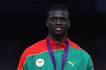 Grenadian 400m sprinter Kirani James (Getty images)