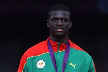 Grenadian 400m sprinter Kirani James (Getty images)