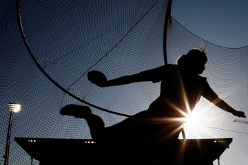 Discus thrower in action (Getty Images)