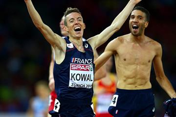 Yoann Kowal, winner of the 3000m steeplechase at the European Championships (Getty Images)