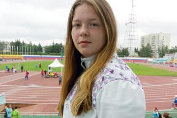 Russian hammer thrower Sofiya Palkina ()