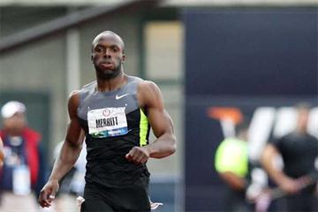 American 400m runner LaShawn Merritt (Getty images)