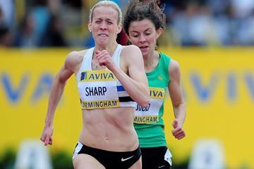 British 800m runner Lynsey Sharp (Getty Images)