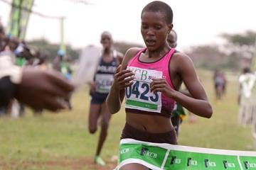 Faith Kipyegon wins at the IAAF Permit/KCB Athletics Kenya National Cross Country meeting  (David Ogeka / Photorun)