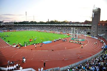 The IAAF Diamond League meeting in Stockholm (Deca Text & Bild)
