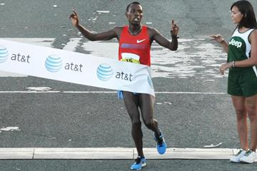 Bedan Karoki wins the World's Best 10K in San Juan (Organisers)