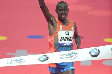 Patrick Makau takes Frankfurt Marathon title (Jiro Mochizuki)
