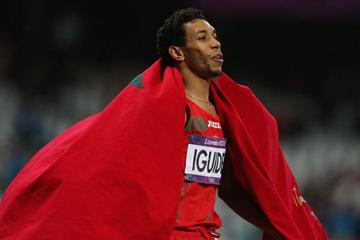 1500m runner Abdalaati Iguider (Getty Images)