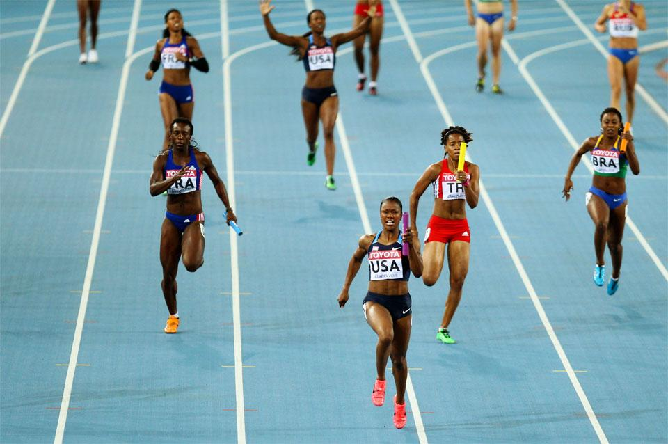 4x100 womes relay image 960 used in IAAF Discipline page (Getty Images)