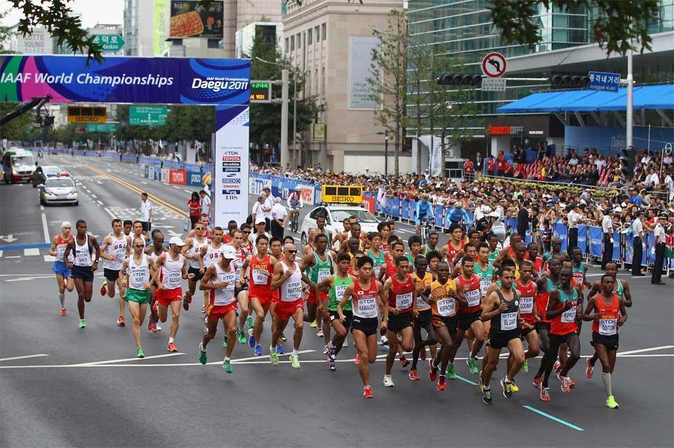 IAAF World Championship Marathon in Deagu (Getty images)