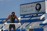 Dayron Robles after a training session in La Habana, Cuba (Getty Images)