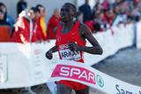 Polat Kemboi Arikan winning at the 2014 European Cross Country Championships  (Getty Images)