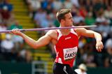 Gatis Cakss in the javelin at the IAAF World Junior Championships, Oregon 2014 (Getty Images)