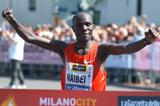 Beating the heat, Solomon Bushendich takes the Milano City Marathon in 2:10:38 (Lorenzo Sampaolo)
