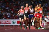 Mo Farah on his way to the European 5000m title (Getty Images)