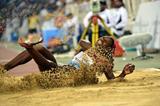 Caterine Ibarguen at the 2014 IAAF Diamond League meeting in Doha (Deca Text & Bild)
