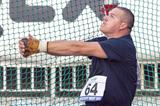 Krisztian Pars at the 2013 Athletics Bridge meet in the Slovak town of Dubnica (Organisers/Jelinek foto)