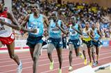 Edwin Soi on his way to winning the 5000m at the 2013 Monaco Diamond League (Philippe Fitte)