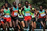 Imane Merga on his way to gold at the 2011 World Cross Country Championships (Getty Images)