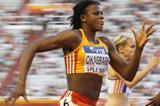 Blessing Okagbare in the 100m at the IAAF Continental Cup (Getty Images)