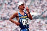 Jefferson Perez winning the 1996 Olympic Games 20km race walk (Getty Images)