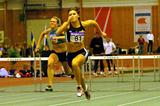 Susanna Kallur at the Swedish Indoor championships (Hasse Sjögren)