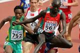 Brimin Kipruto of Kenya in the 3000m Steeplechase heats (Getty Images)