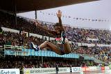American Tianna Madison's winning jump (Getty Images)